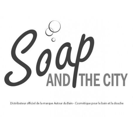 Handgesneden zepen Savon Avoine et Miel, soin exfoliant peau sensible de Autour du Bain