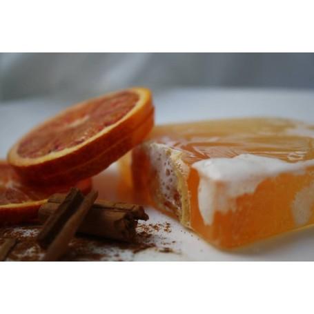 Savon à la coupe Savon Orange Cannelle de Autour du Bain