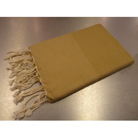 Foutas - Serviettes 100x200 Fouta 100 x 200 cm - beige sable de Soap and the City
