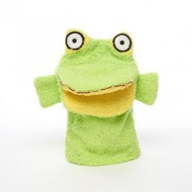 Kids stuff Gant de toilette, Grenouille made by De Laurier