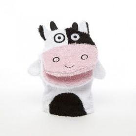 Pour les enfants Gant de toilette, Vache de De Laurier