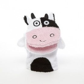 Kids stuff Gant de toilette, Vache made by De Laurier
