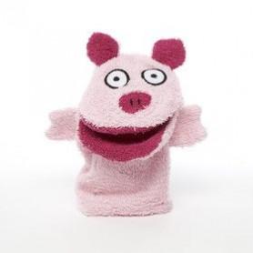 Gant de toilette, Cochon
