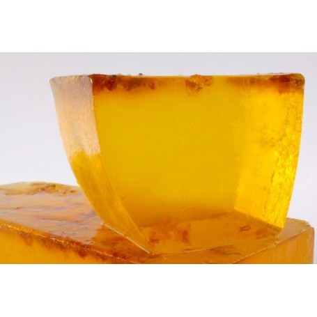 Handgesneden zepen White Musk Jasmine, cut soap translucent made by Autour du Bain