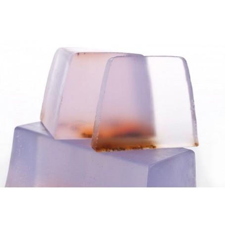 Lavanda Inglese, sapone al taglio, translucidi from Autour du Bain in Paris