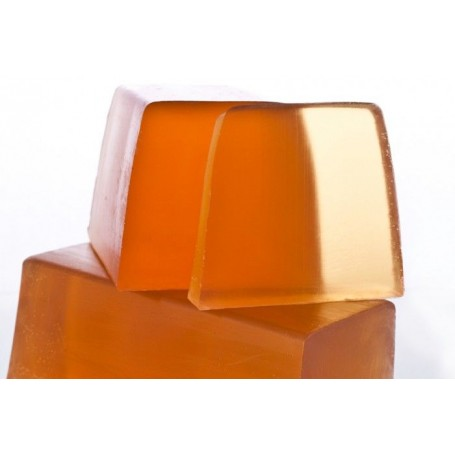 Handgesneden zepen Patchouli, cut soap translucent made by Autour du Bain