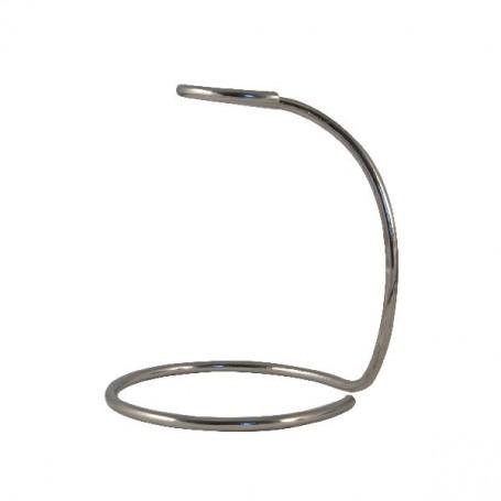 Porte blaireau en métal