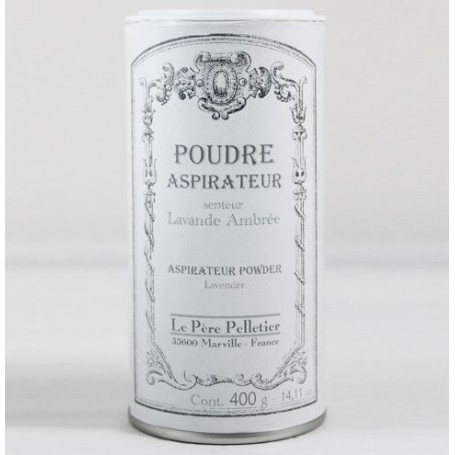 Poudre aspirateur Lavande Ambrée from Le Père Pelletier in Paris @ Soap and the City, soaps, candles, incens, perfumes and te...
