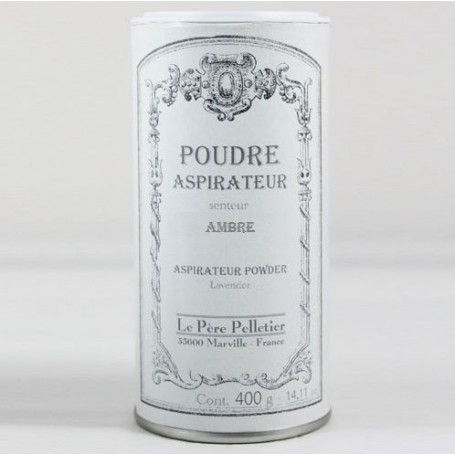 Poudre aspirateur Ambre from Le Père Pelletier in Paris @ Soap and the City, soaps, candles, incens, perfumes and teddies