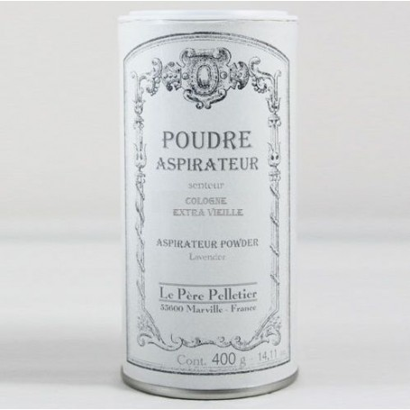 Poudre aspirateur Cologne from Le Père Pelletier in Paris @ Soap and the City, soaps, candles, incens, perfumes and teddies