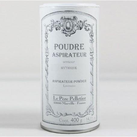Poudre aspirateur Mythique Le Père Pelletier à Paris chez Soap and the City, savons, bougies, parfums, encens et peluches