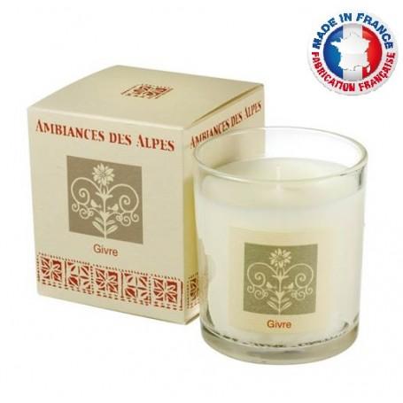 Bougies parfumées Bougie parfumée 40h, Givre de Ambiance des Alpes