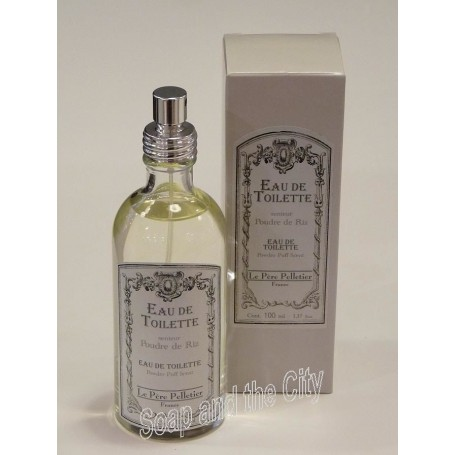 Eau de toilette, Poudre de riz from Le Père Pelletier in Paris @ Soap and the City, soaps, candles, incens, perfumes and teddies