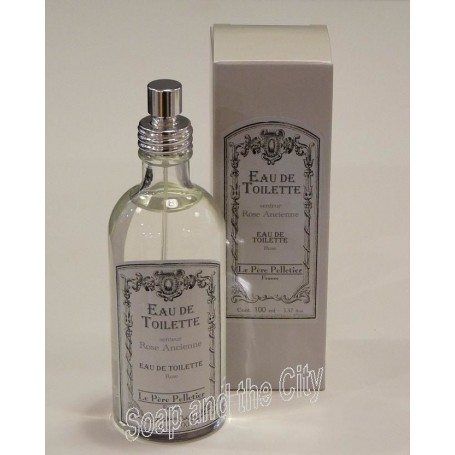 Eau de toilette, Rose Ancienne from Le Père Pelletier in Paris