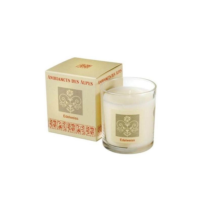 Bougie parfumée 40h, Edelweiss