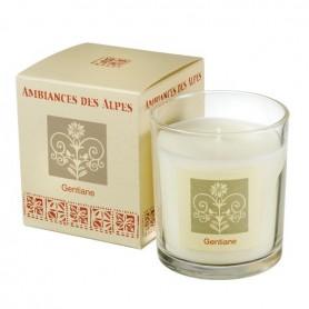 Bougies parfumées Bougie parfumée 40h, Gentiane de Ambiance des Alpes
