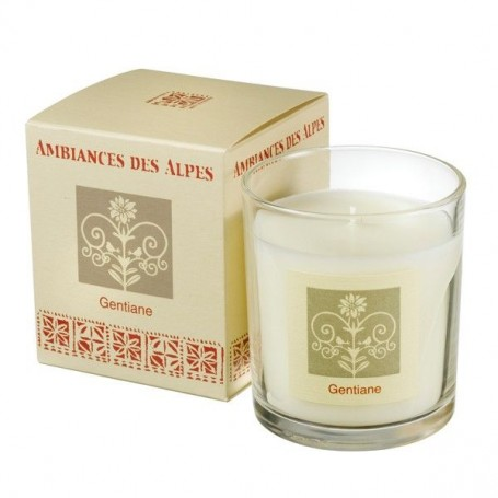 Bougie parfumée, Gentiane from Ambiance des Alpes in Paris