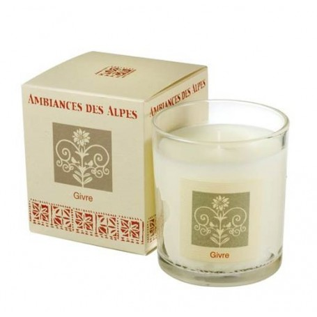 Bougie parfumée, Givre from Ambiance des Alpes in Paris @ Soap and the City, soaps, candles, incens, perfumes and teddies