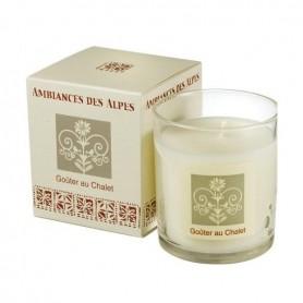 Bougies parfumées Bougie parfumée 40h, Goûter au chalet de Ambiance des Alpes