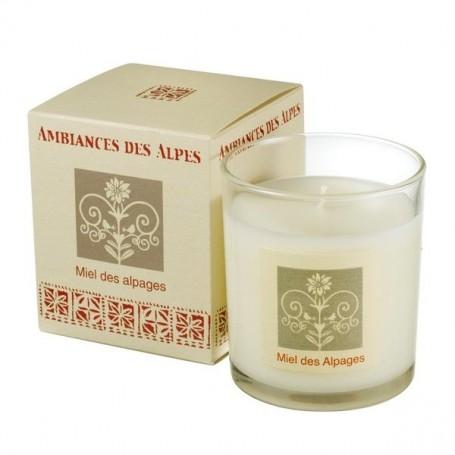 Bougies parfumées Bougie parfumée 40h, Miel des Alpages de Ambiance des Alpes