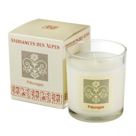 Bougies parfumées Bougie parfumée 40h, Pâturages de Ambiance des Alpes