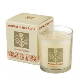 Bougies parfumées Bougie parfumée 40h, Résines épicées de Ambiance des Alpes