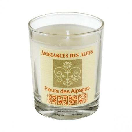 Bougies parfumées Bougie parfumée 40h, Fleurs des Alpes de Ambiance des Alpes