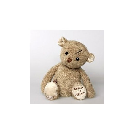 Peluches et doudous Peluche ours, Nobody's Perfect made by Bukowski