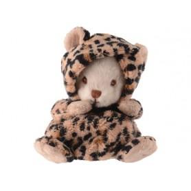 Peluches et doudous Peluche ours déguisé en léopard de Bukowski