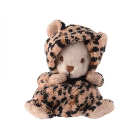 Peluches et doudous Peluche ours déguisé en léopard made by Bukowski