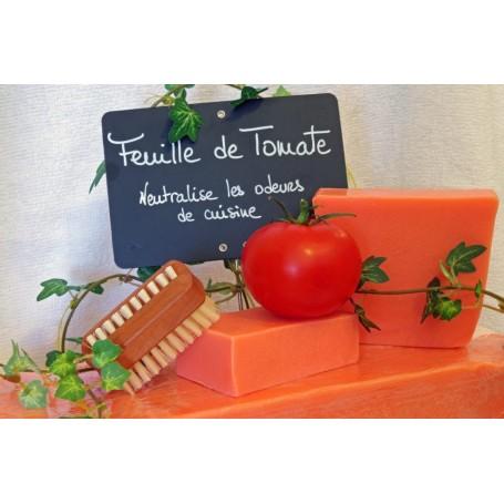 Savon à la coupe Savon Feuille de Tomate, neutralise odeurs cuisine de Autour du Bain