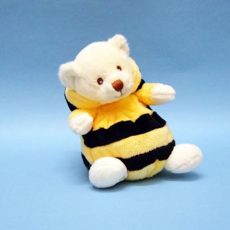 Peluches et doudous Peluche ours déguisé en abeille de Bukowski