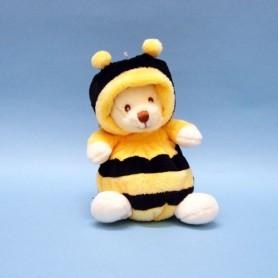 Peluches et doudous Peluche ours déguisé en abeille made by Bukowski