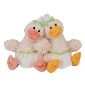 Peluches et doudous Peluches 2 canards, Happy Quack Sisters de Bukowski