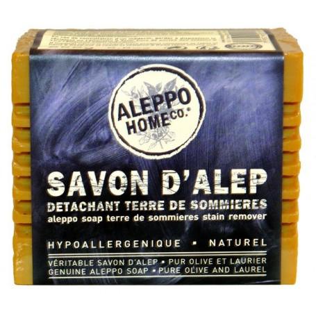 Savon d'Alep détachant à la terre de Sommières Tadé à Paris chez Soap and the City, savons, bougies, parfums, encens et peluches
