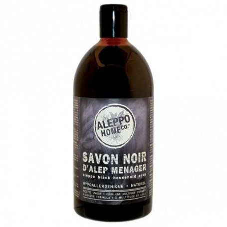 Savon noir d'Alep ménager Tadé à Paris chez Soap and the City, savons, bougies, parfums, encens et peluches