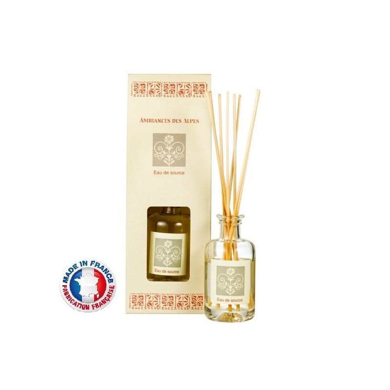Bouquet parfumé, Eau de source