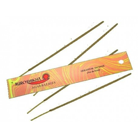 Incense Incense - Géranium (joie du soleil) made by Auroshikha