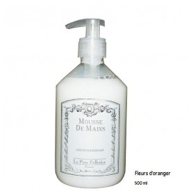 Hand wash and gels Fleur d'oranger, Liquid handsoap made by Le Père Pelletier