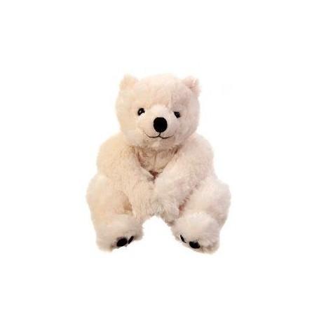 Peluches et doudous Peluche ours polaire, Baby Antonio - 40cm de Bukowski