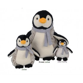 Peluches et doudous Peluche Sweet Julius Pinguin de Bukowski