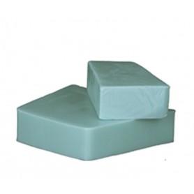 Handcut soaps Menthe Poivrée, cut soap made by Autour du Bain