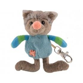 Porte-clés peluches Peluche porte clé, Wolfy de Bukowski