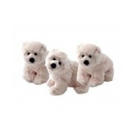 Porte-clés peluches Peluche porte clé, Polar bear de Bukowski