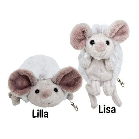 Peluche porte clé, Souris Lisa Bukowski à Paris chez Soap and the City, savons, bougies, parfums, encens et peluches