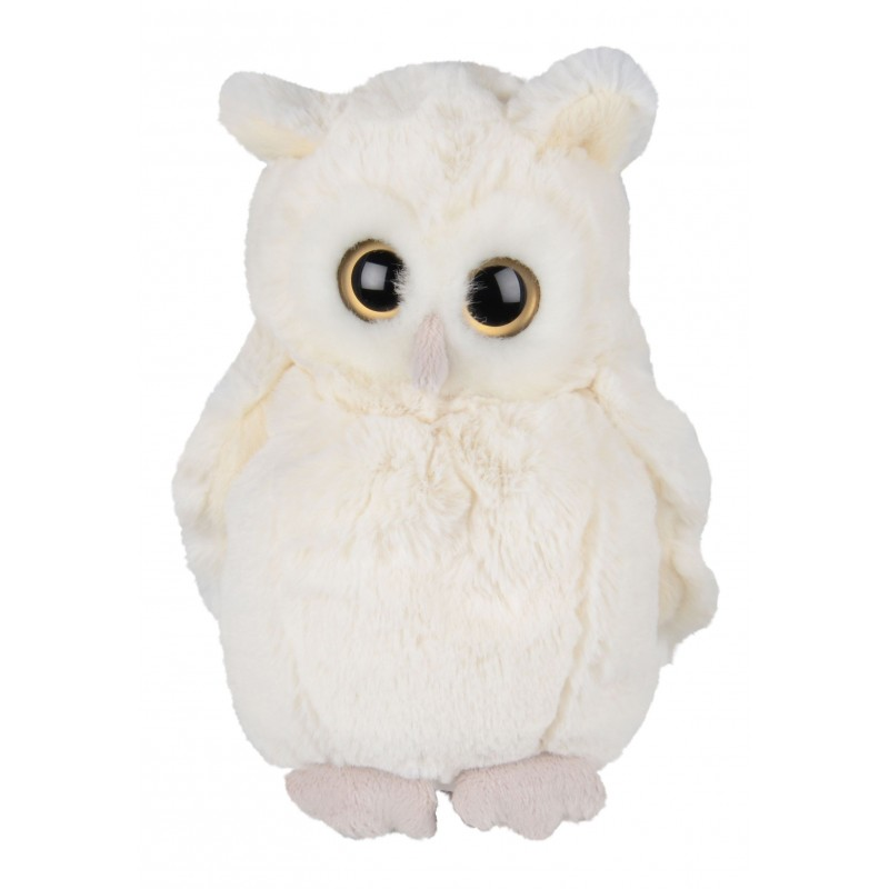 Peluche chouette - Clever Blanca