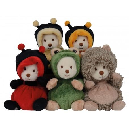 Peluches et doudous Peluche ours déguisé en coccinelle de Bukowski