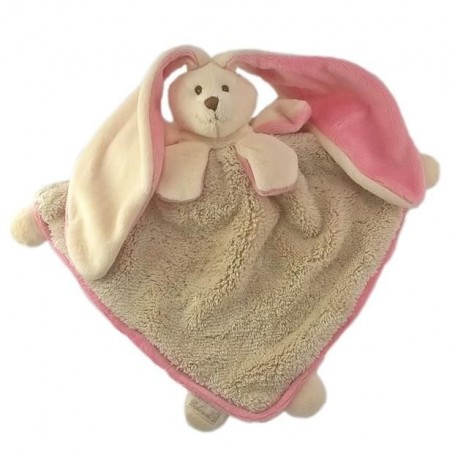 Peluche Doudou Maria rose beige Bukowski à Paris chez Soap and the City, savons, bougies, parfums, encens et peluches