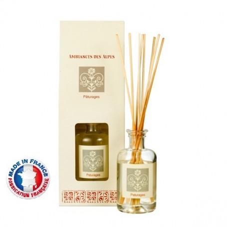 Bouquet parfumé, Au coin du feu Ambiance des Alpes a Paris