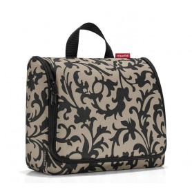 TOILET BAGS Trousse toilette XL, baroque taupe made by Reisenthel